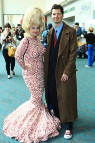 Mars Attack + The Doctor - SDCC 2012 - Bill Watters