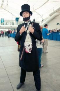 Abraham Lincoln Vampire Hunter - SDCC 2012 - Hayley Sargent