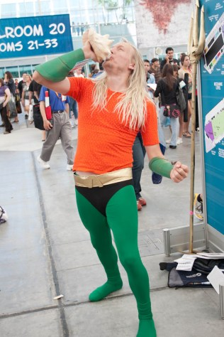 Aquaman - SDCC 2012 - Hayley Sargent