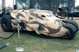 Batmobile (Batman Begins) - Hayley Sargent - SDCC 2012