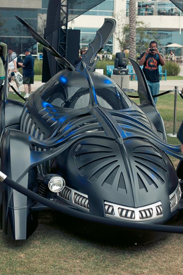 Batmobile (Batman Forever) - Hayley Sargent - San Diego Comic-Con 2012
