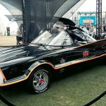Original Batmobile - Hayley Sargent - SDCC 2012