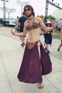 Slave Leia Dude - Hayley Sargent - SDCC 2012