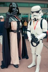 Darth Vader and Storm Trooper - Hayley Sargent - SDCC 2012