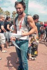 Wolverine - Hayley Sargent - SDCC 2012