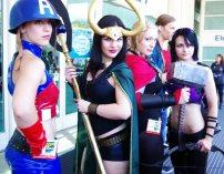 Lady Avengers - SDCC 2012 - Aggressive Comix