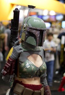 Lady Boba Fett - SDCC 2012 - San Diego Shooter
