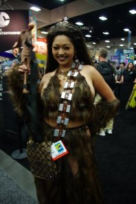 Lady Wookiee - SDCC 2012 - Aggressive Comix