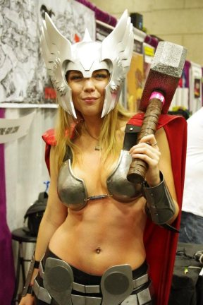 Lady Thor - SDCC 2012 - Aggressive Comix