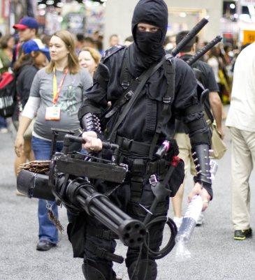 NINJA! - SDCC 2012 - San Diego Shooter
