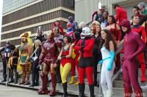 Avengers Group Shoot