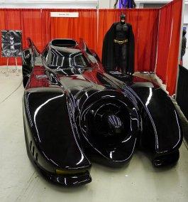 The Batmobile (1989) at Montreal Comic Con 2012