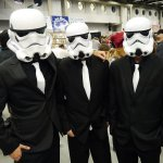 Stormtroopers in Suits - Montreal Comic Con 2012