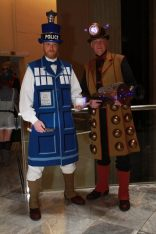 Tardis and Dalek (Doctor Who) @ Dragon Con 2012