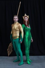 Aquaman and Mera @ Dragon Con 2012