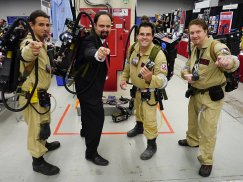 Ghostbusters! - Montreal Comic Con 2012
