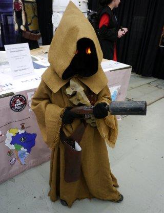 Jawa (Star Wars) at Montreal Comic Con 2012