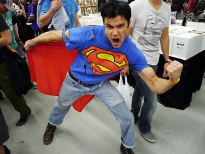 Superboy at Montreal Comic Con 2012