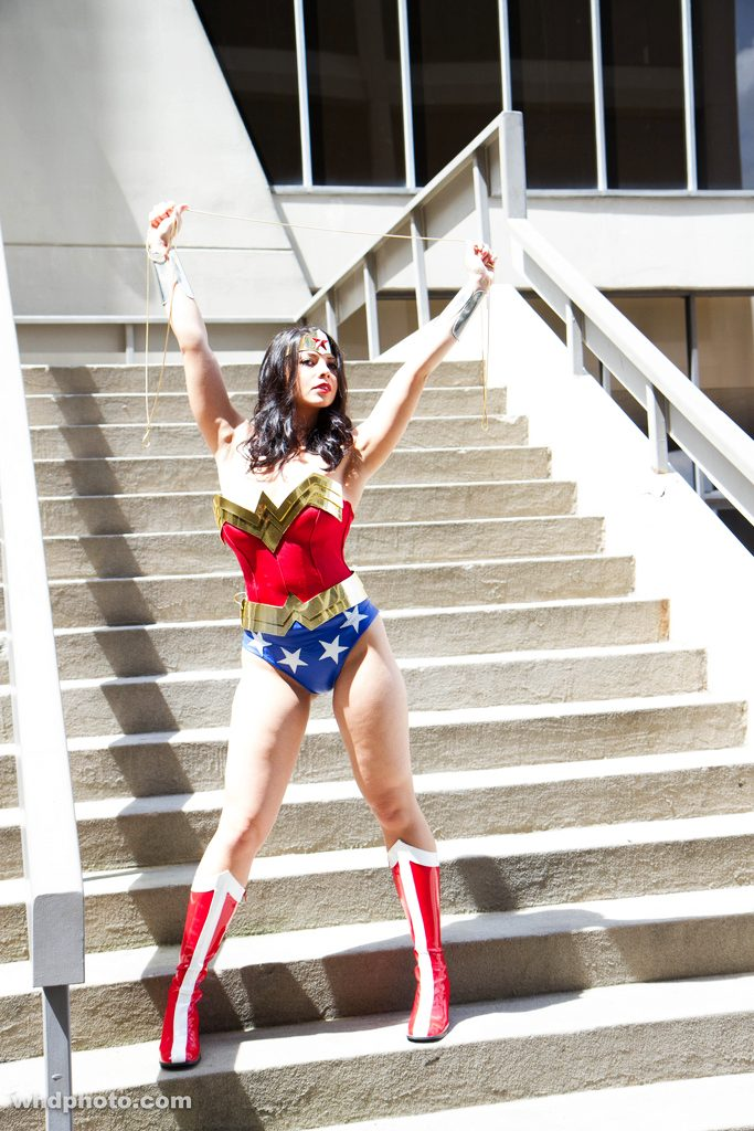 Wonder Woman @ Dragon Con 2012 - Picture by Leepus