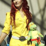 April O'Neil (TMNT) @ New York Comic Con 2012 (NYCC)