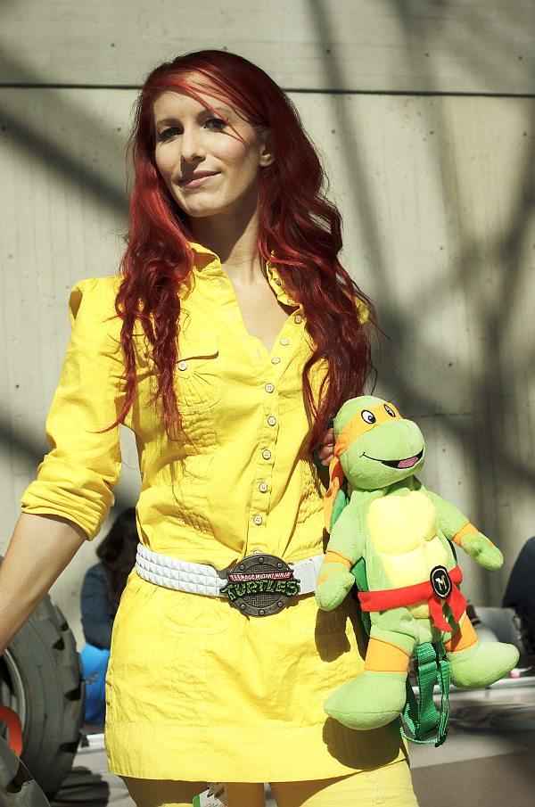 April O'Neil (TMNT) @ New York Comic Con 2012 (NYCC)