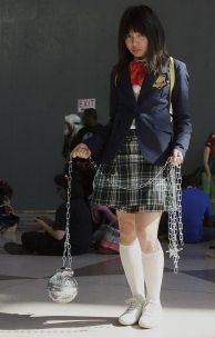 Gogo Yubari (Kill Bill) @ New York Comic Con 2012 (NYCC)