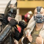 Batman and Bane @ Las Vegas Comic Expo 2012 – Picture by Eric Beymer