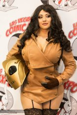 Lady Rocketeer @ Las Vegas Comic Expo 2012 – Picture by Eric Beymer