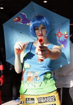 Lady Nintendo @ New York Comic Con 2012 (NYCC)
