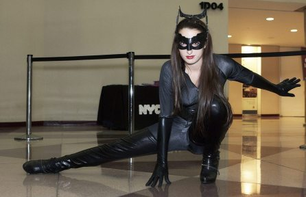 Catwoman @ New York Comic Con 2012 (NYCC)