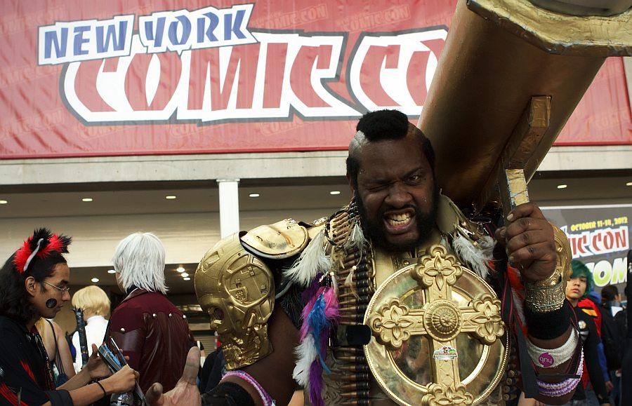 Mr. T @ New York Comic Con 2012 (NYCC)