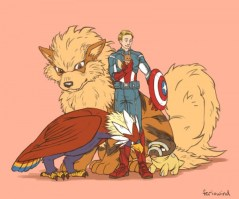 Avengers Pokemon – Captain America