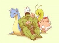 Avengers Pokemon – Hulk