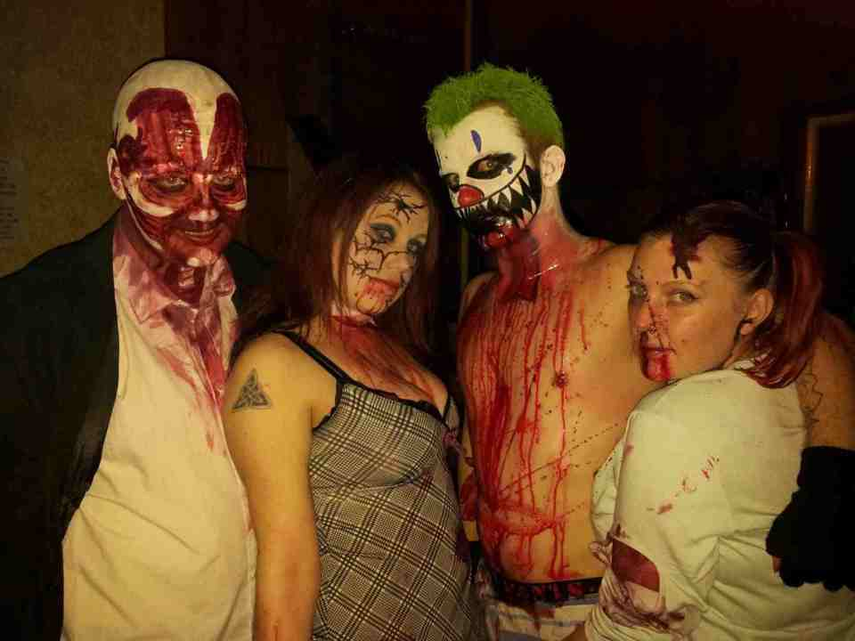 Robert H. as Uncle Frank (Hellraiser) and Friends