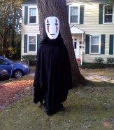 Sarah's Husband as No-Face from Spirited Away