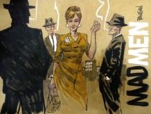 Mad Men Comic Style Joan