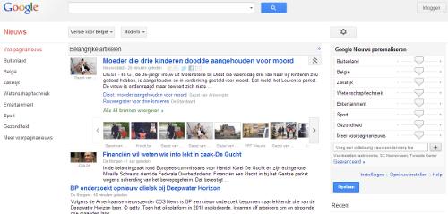 googlenewsbelgium