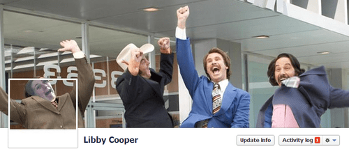Libby Cooper Anchorman