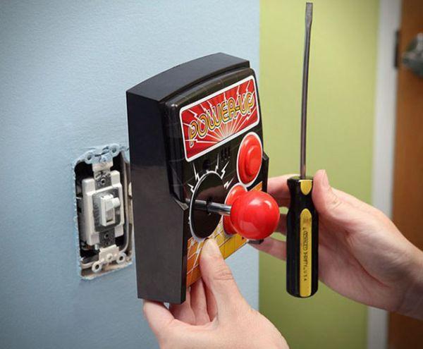 Power-Up-Arcade-Light-Switch-Plate