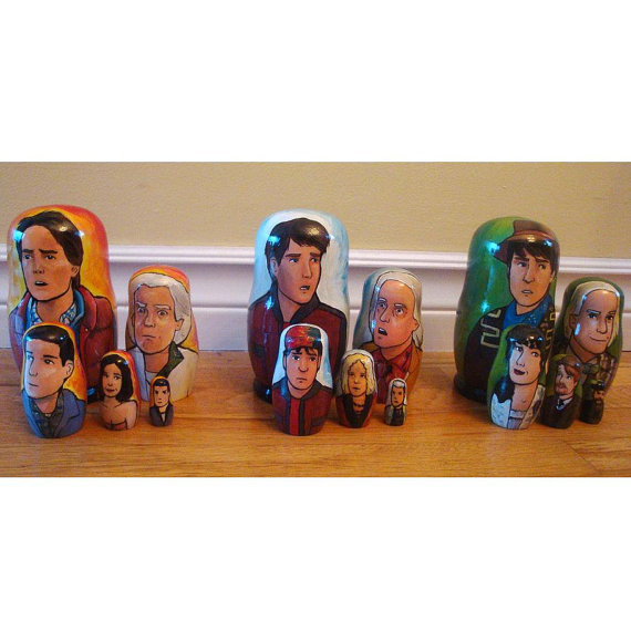 Rachel Anderson Nesting Dolls – Back to the Future