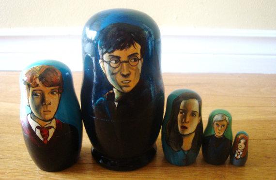 Rachel Anderson Nesting Dolls – Harry Potter