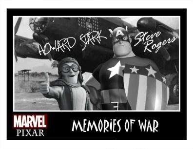 Pixar Captain America Memories