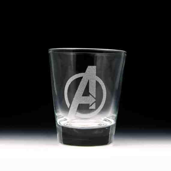 Avengers Shot Glass