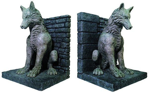 direwolf-bookends