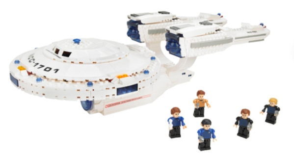 USS Enterprise Building Set
