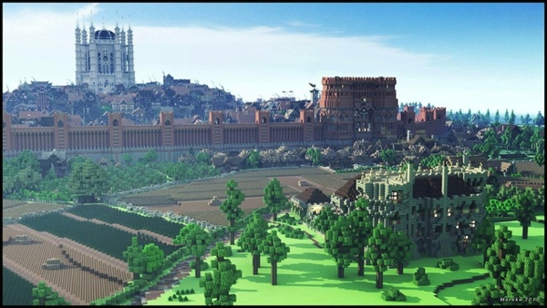 minecraft kings landing 2