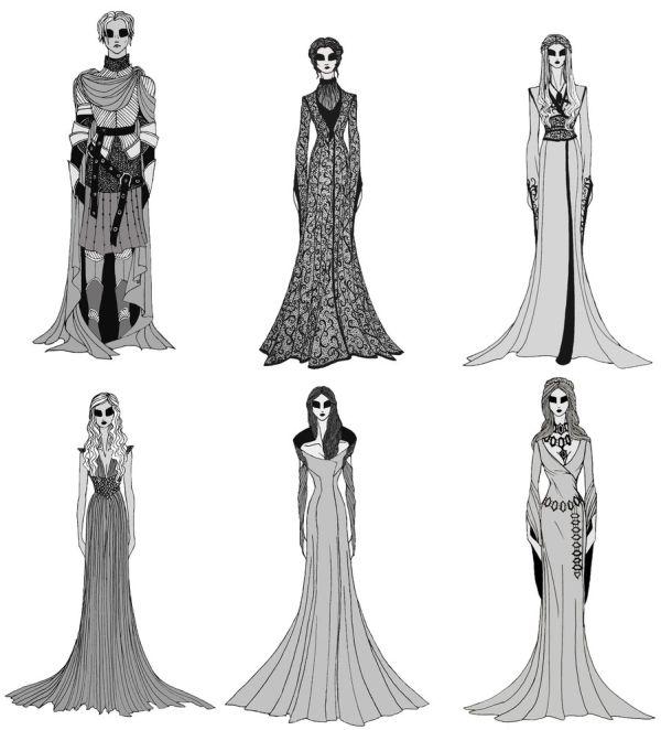 """""""Game of Thrones"""" Female Costumes."""