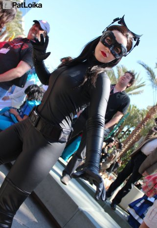 Catwoman - Picture by Pat Loika - WonderCon 2013