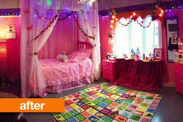 PRETTY, PRETTY PRINCESS: Poor Chap Finds His Room Madeover in ...