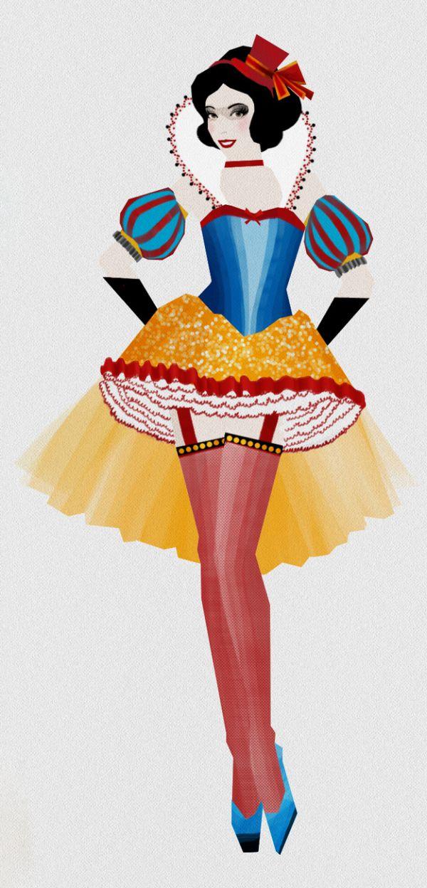 snow white burlesque